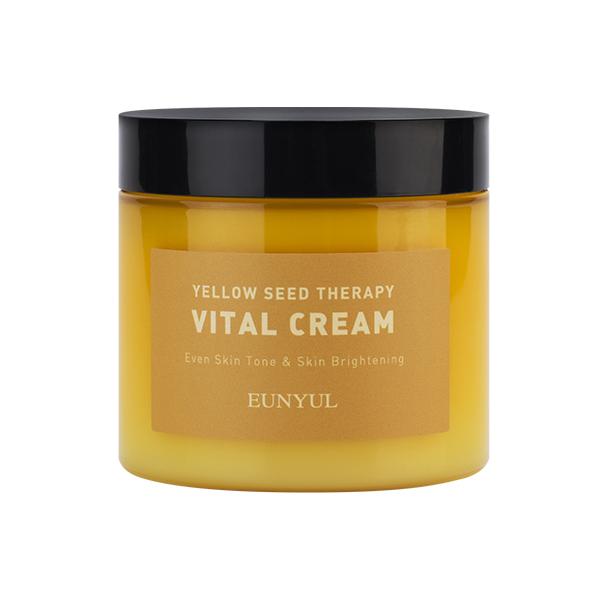 Восстанавливающий крем для сияния кожи  EUNYUL Yellow Seed Therapy Vital Cream