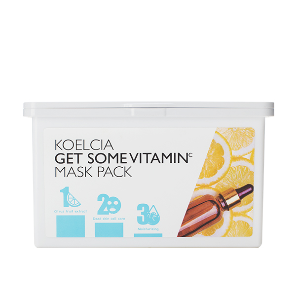 Набор тканевых масок с витамином С (30 штук) KOELCIA Get Some Vitamin C Mask Pack