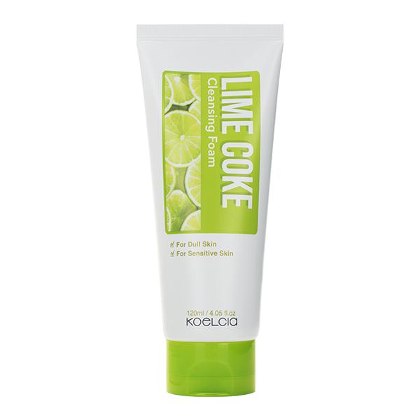 Пенка для жирной и чувствительной кожи KOELCIA Lime Coke Cleansing Foam