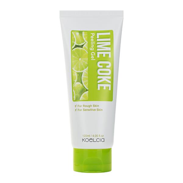 Пилинг-скатка для жирной кожи KOELCIA Lime Coke Peeling Gel