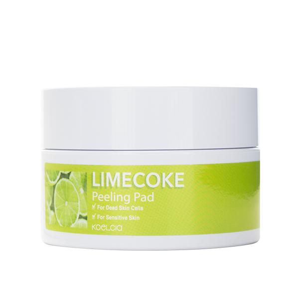 Очищающие пилинг-пады для жирной, чувствительной кожи KOELCIA Lime Coke Peeling Pad