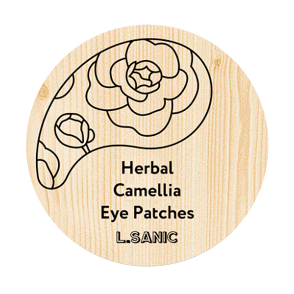 L.Sanic Herbal Camellia Hydrogel Eye Patches