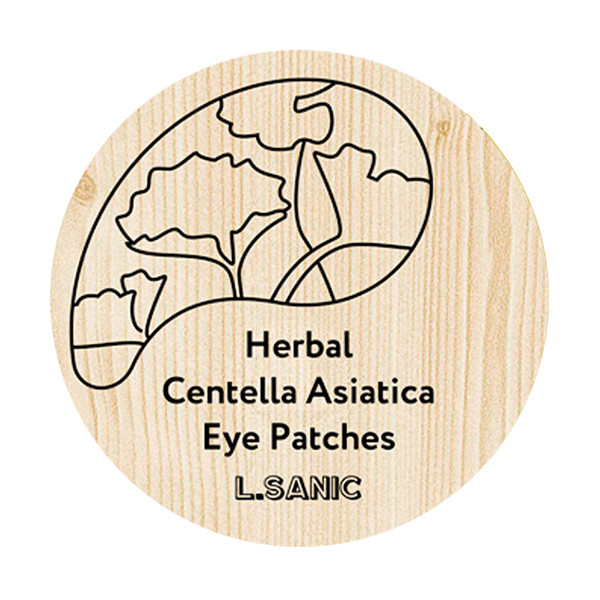 L.Sanic Herbal Centella Asiatica Hydrogel Eye Patches
