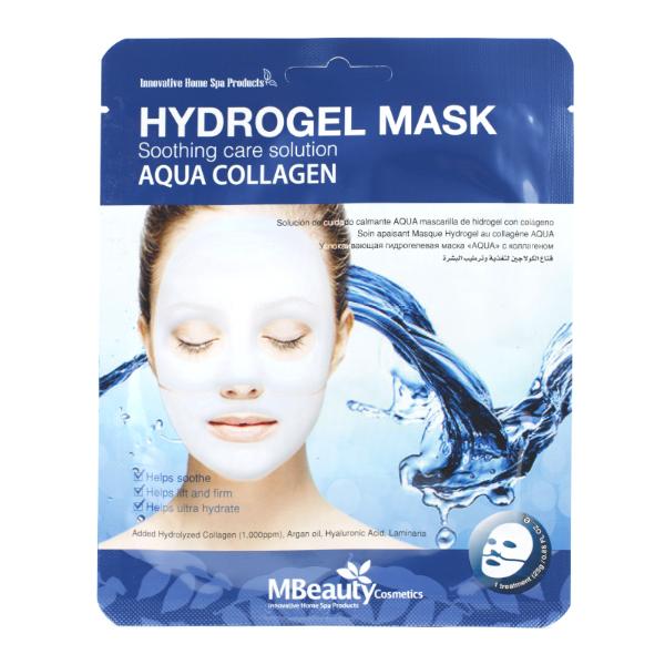 Увлажняющая гидрогелевая маска с коллагеном MBeauty Aqua Collagen Hydrogel Mask