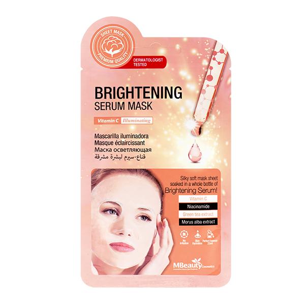 Тканевая маска для тусклой кожи MBeauty Brightening Serum Mask