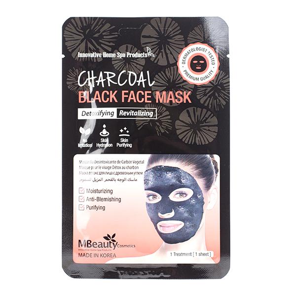 Очищающая маска с углём MBeauty Charcoal Black Face Mask