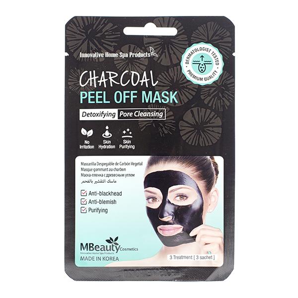 Очищающая маска-плёнка с углём  MBeauty Charcoal Peel Off Mask