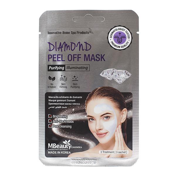 Маска-плёнка с алмазной пудрой MBeauty Diamond Peel Off Mask