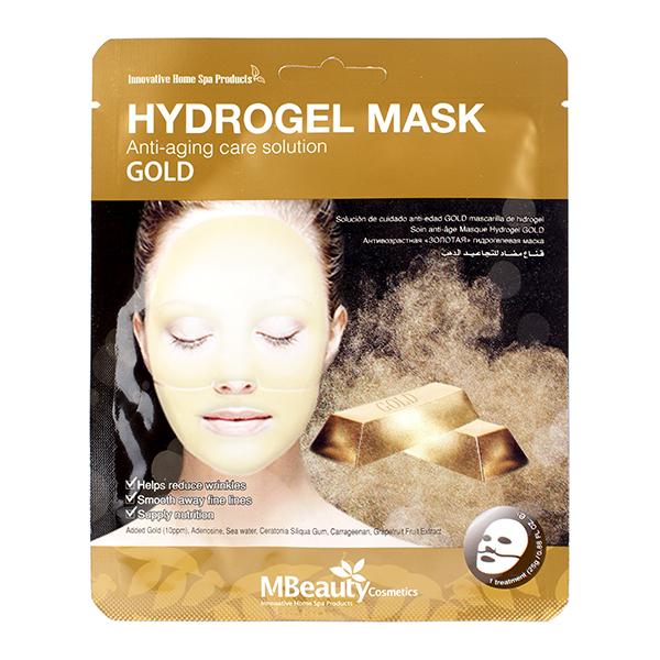 Гидрогелевая маска с золотом MBeauty Gold Hydrogel Mask
