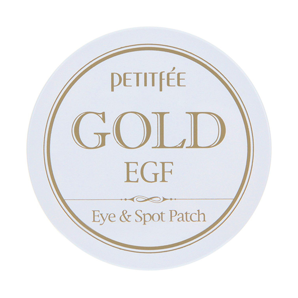 Гидрогелевые патчи для глаз с EGF и золотом, 60 шт. + 30 шт. Petitfee Gold & EGF Eye & Spot Patch