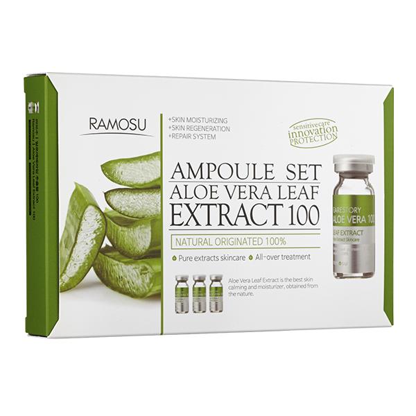 Ramosu Aloe vera Leaf Extract 100, 10ml×3
