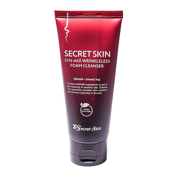 Очищающая пенка с пептидомSyn-Ake Secret Skin Syn-Ake Wrinkleless Foam Cleanser