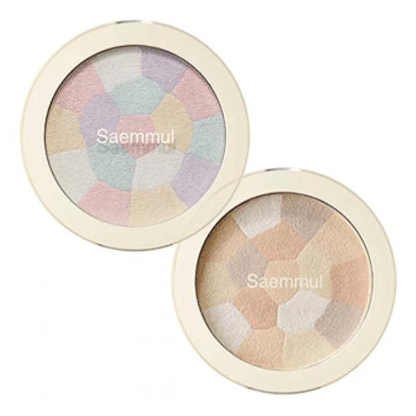 Хайлайтер минеральный для скульптурирования лица The Saem Saemmul Luminous Multi Highlighter