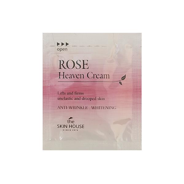Крем для сухой кожи  Пробник The Skin House Rose Heaven Cream