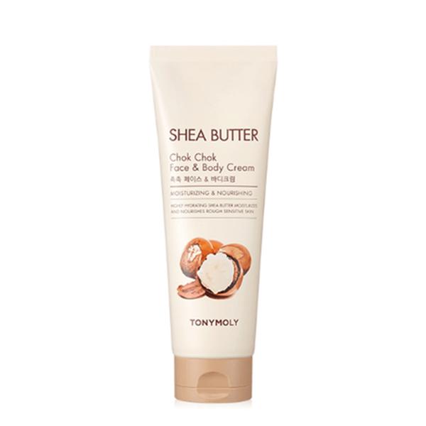 Крем с маслом ши для лица и тела Tony Moly Shea Butter Chok Chok Face&Body Cream