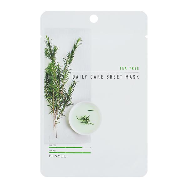 Тканевая маска с чайным деревом EUNYUL Tea Tree Daily Care Sheet Mask
