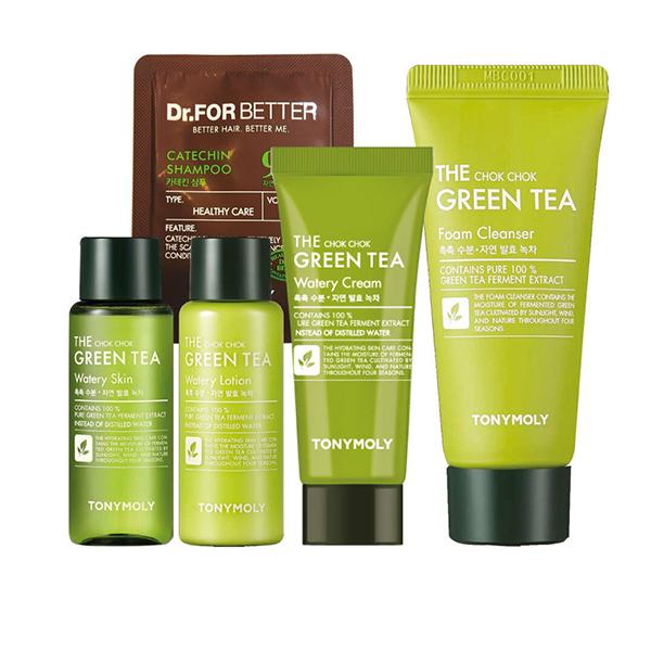 Набор для ухода за кожей Tony Moly The Chok Chok Green Tea Watery Kit