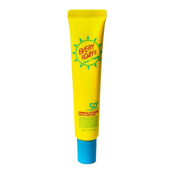 Лёгкий повседневный солнцезащитный крем для всех типов кожиSPF50+PA++++ A'PIEU Everyday Sun Cream SPF50+PA++++