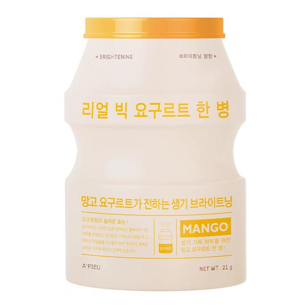 Тканевая маска с манго A'Pieu Real Big Yogurt Bottle Mango