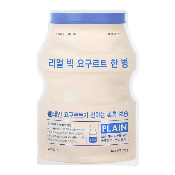 Тканевая маска с йогуртом A'Pieu Real Big Yogurt Bottle Plain