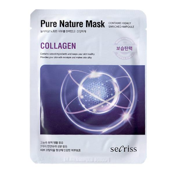 Тканевая маска с коллагеном Anskin Secriss Pure Nature Collagen Mask Pack