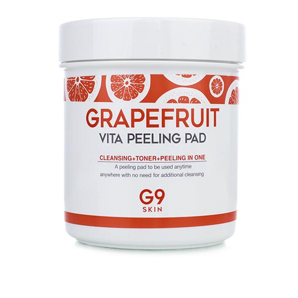 Пилинг пады с грейпфрутом, 100 шт. Berrisom G9 Grapefruit Vita Peeling Pad