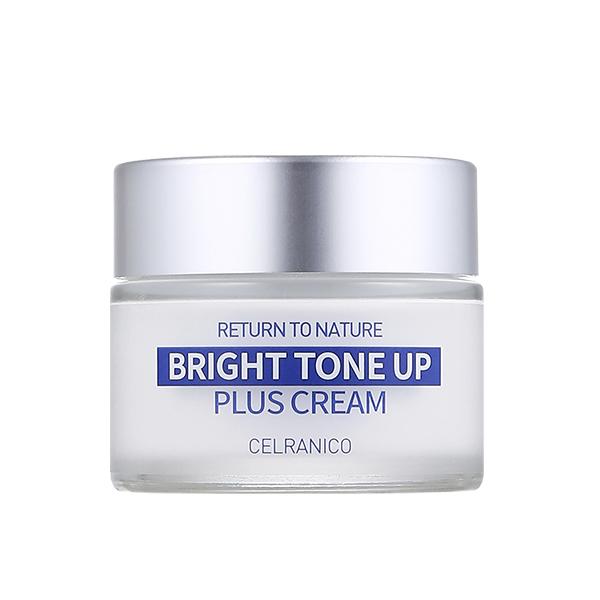 Крем для сияния кожи CELRANICO Return To Nature Bright Tone Up Plus Cream