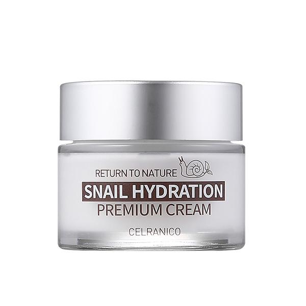 Укрепляющий крем с муцином улитки CELRANICO Return To Nature Snail Hydration Premium Cream