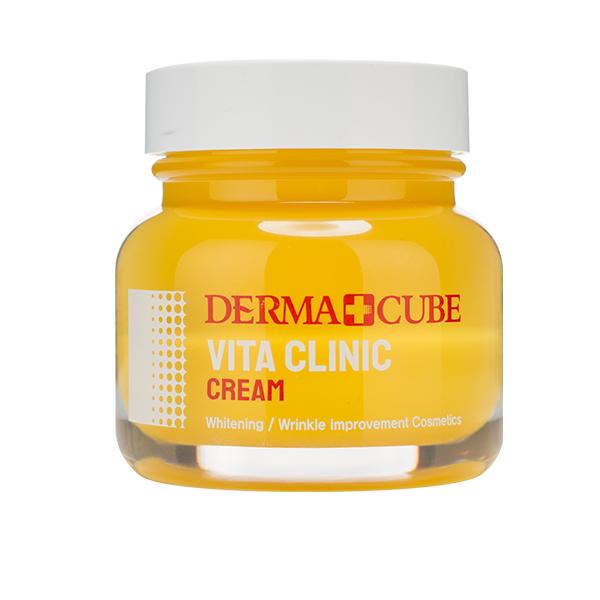 Антиоксидантный крем для сияния кожи FarmStay Derma+Cube Vita Clinic Cream
