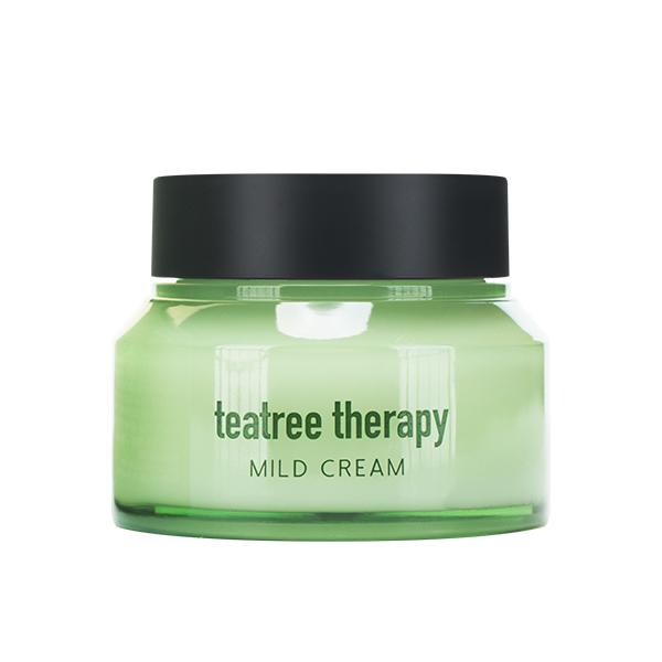 Крем для проблемной с экстрактом чайного дерева EUNYUL Tea Tree Therapy Mild Cream