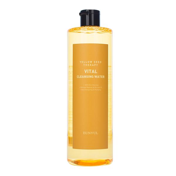 Мицеллярная водадля тусклой кожи EUNYUL Yellow Seed Therapy Vital Cleansing Water