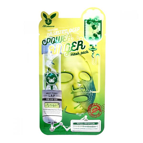 Тканевая маска с центеллой азиатской Elizavecca Centella Asiatica Deep Power Ringer Mask Pack