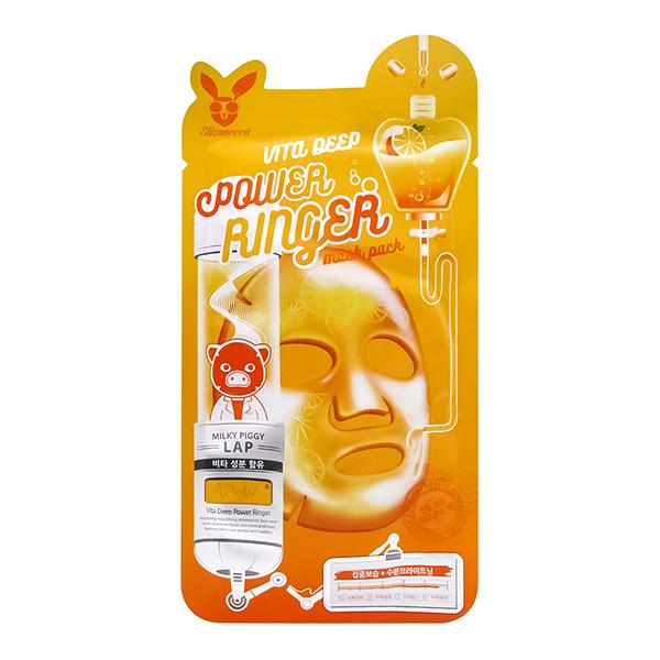 Тканевая маска с витаминами Elizavecca Vita Deep Power Ringer Mask Pack