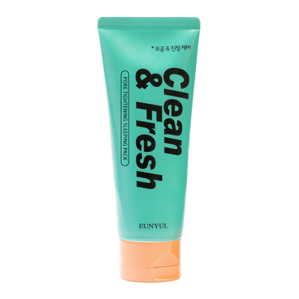 Ночная маска для жирной кожи Eunyul Clean & Fresh Pore Tightening Sleeping Pack
