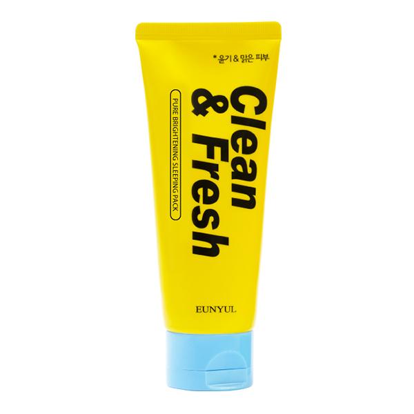 Ночная маска для сияния кожи Eunyul Clean & Fresh Pure Brightening Sleeping Pack