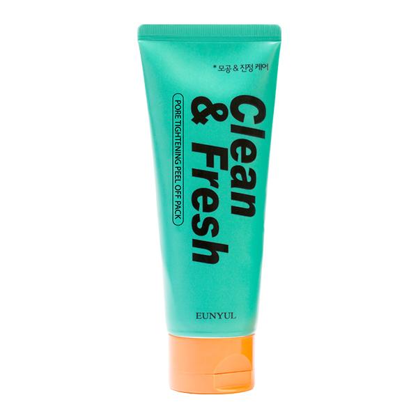Маска-пленка для сужения пор Eunyul Clean and Fresh Pore Tightening Peel Off Pack