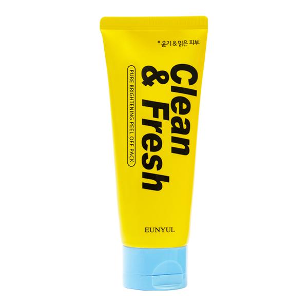 Маска-пленка для сияния кожи Eunyul Clean and Fresh Pure Brightening Peel Off Pack