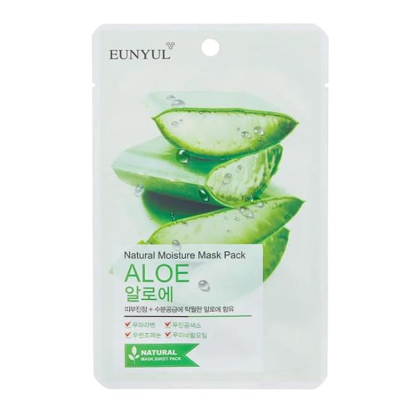 Тканевая маска с алоэ Eunyul Natural Moisture Mask Pack Aloe