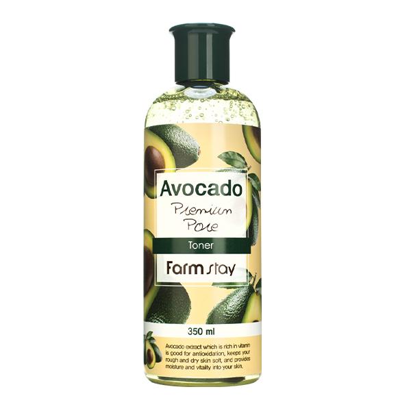 Питательный тонер для сухой кожи FarmStay Avocado Premium Pore Toner