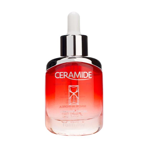 Укрепляющая ампульная сыворотка с керамидами  FarmStay Ceramide Firming Facial Ampoule