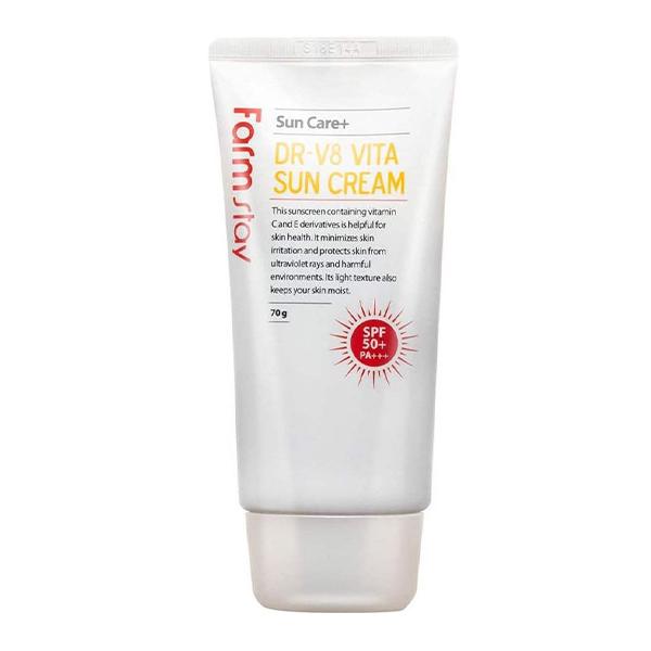 Солнцезащитный крем FarmStay DR-V8 Vita Sun Cream SPF 50/PA+++