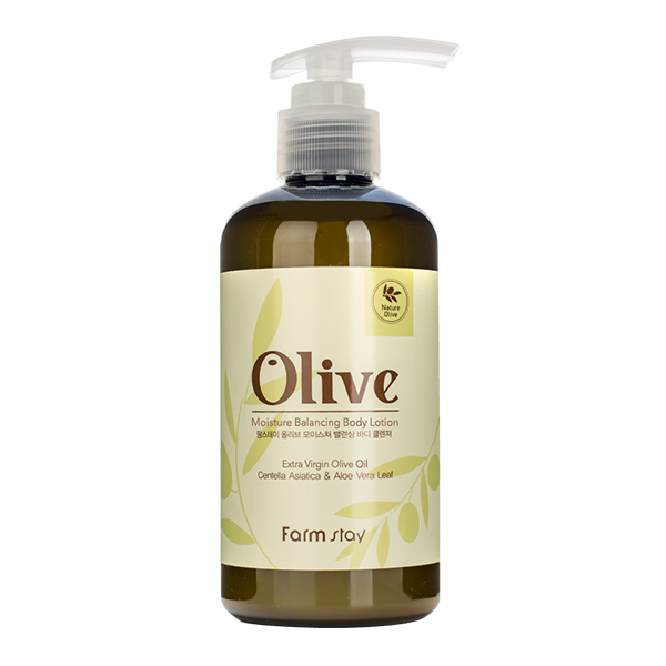 Лосьон для тела с оливой FarmStay Olive Moisture Balancing Body Lotion