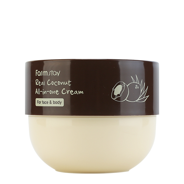 Универсальный кокосовый крем для лица и тела FarmStay Real Coconut All-in-One Cream