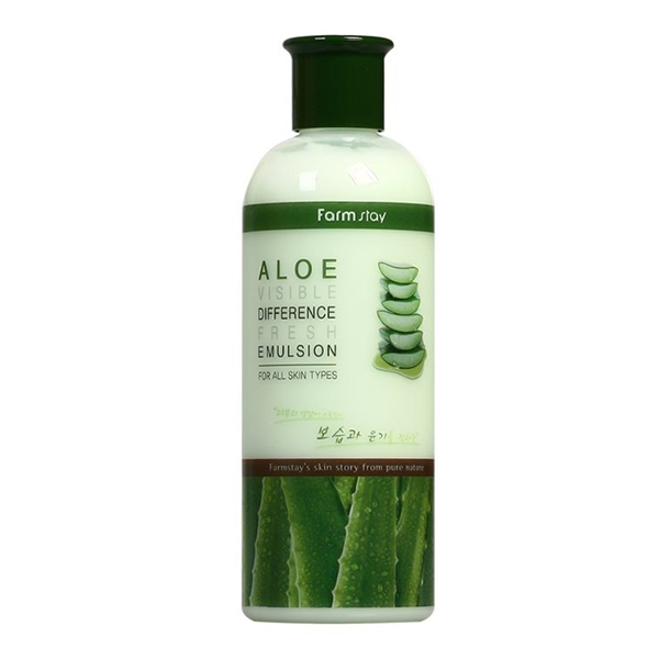 Увлажняющая эмульсия с экстрактом алоэ  FarmStay Visible Difference Fresh Emulsion (Aloe)