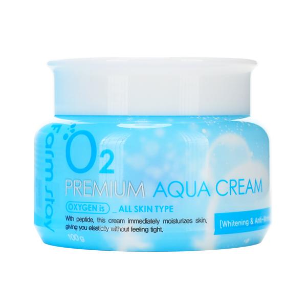 Увлажняющий крем с кислородом Farmstay O2 Premium Aqua Cream