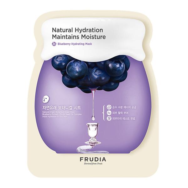Тканевая маска с черникой Frudia Blueberry Hydrating Sheet Mask