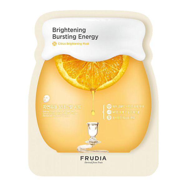 Тканевая маска для сияния Frudia Citrus Brightening Sheet Mask