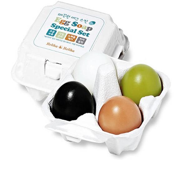 Набор мыла для умывания (50g*4) Holika Holika Egg Soap Special Set