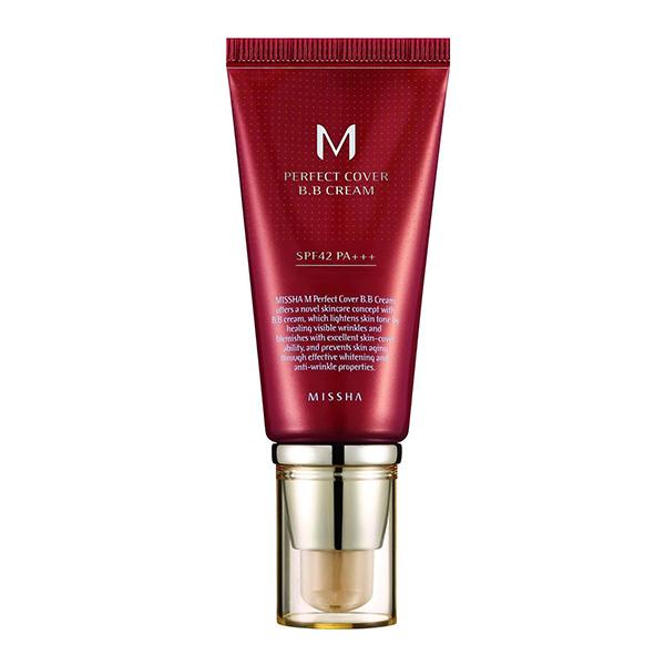 ББ крем с максимальной кроющей способностью Missha M Perfect Cover BB Cream №23