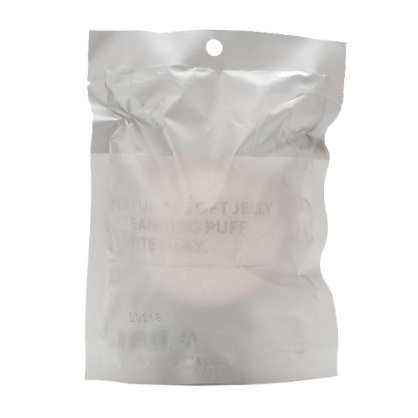 Спонж для умывания Missha Natural Soft Jelly Cleansing Puff No.1 White Clay